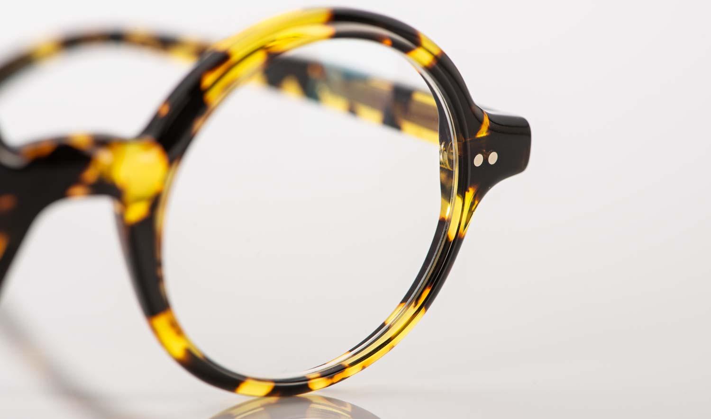 Alf – runde Acetat Brille in tortoise Optik - KITSCHENBERG Brillen