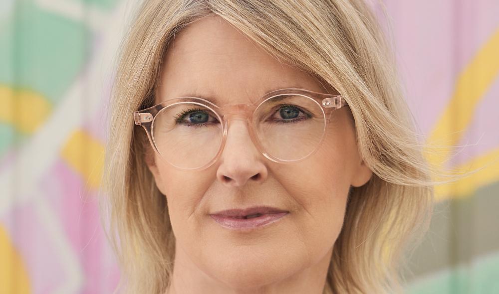 Ahlem – Model Claudia – transparent roséfarbige rund Kunststoff Brille - KITSCHENBERG Brillen