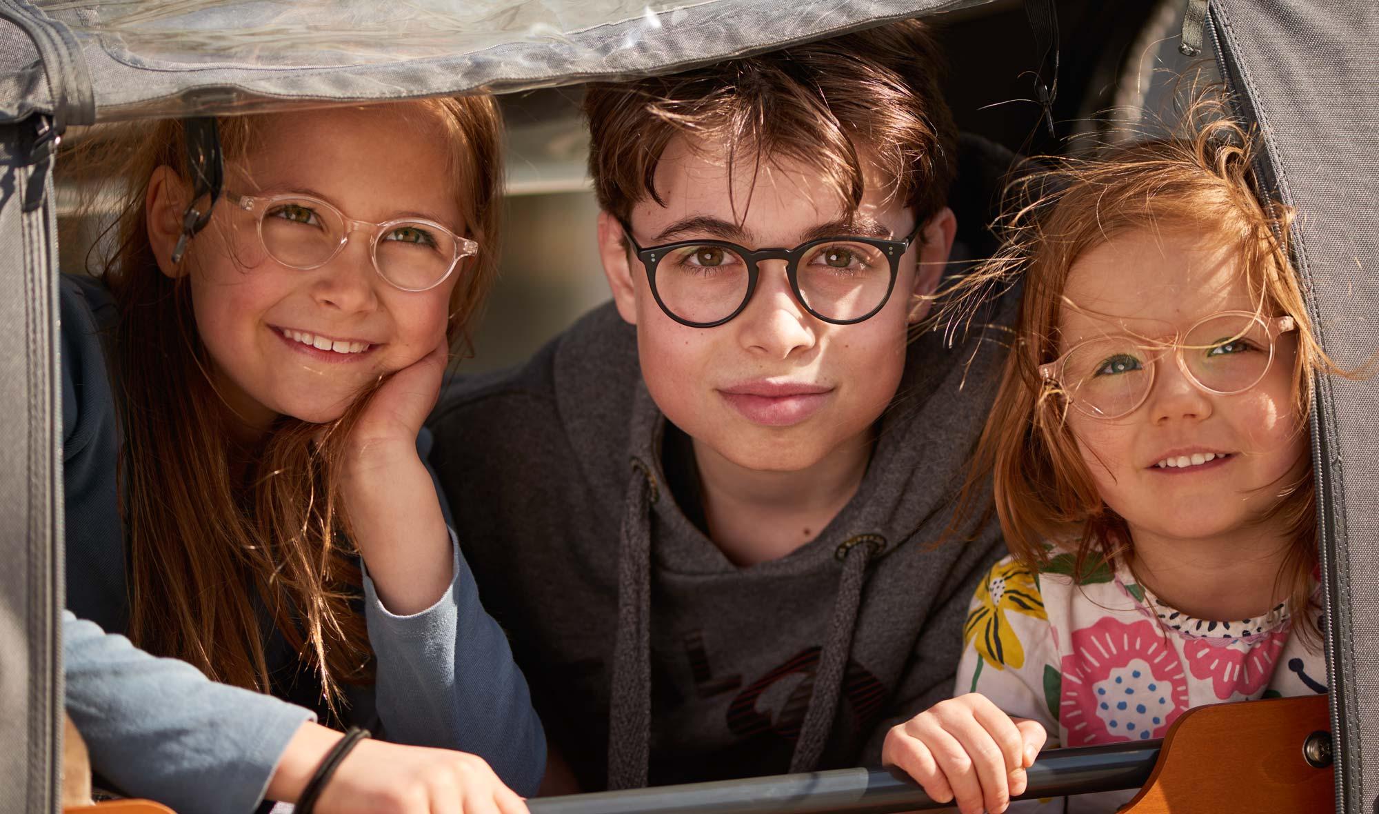Oliver Peoples und Kitschenberg Acetat – Model Daphne, Moritz und Audrey – runde Brillen im Stil der 1940er Jahre - KITSCHENBERG Brillen