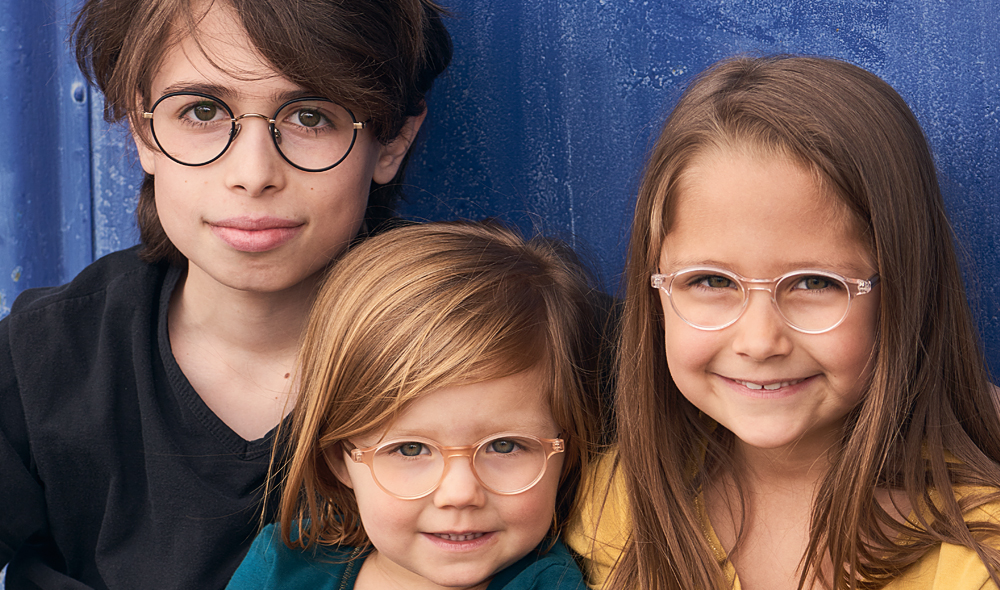 Willems und Kitschenberg Acetat – Model Moritz, Audrey und Daphne – runde Brille im Stil der 1940er Jahre - KITSCHENBERG Brillen