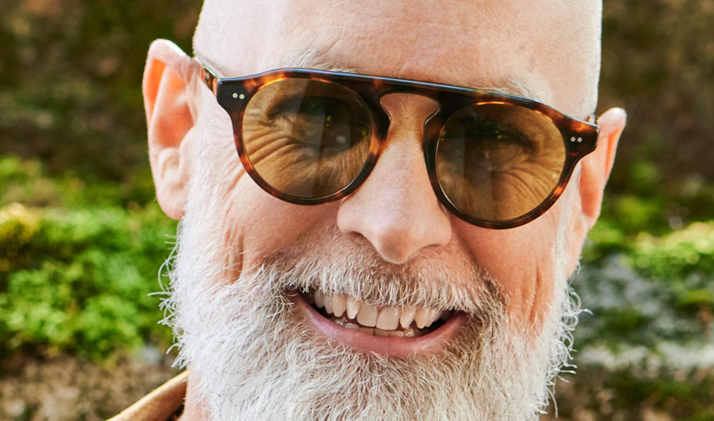 Alf – Model Nikolas – braune havana farbige Acetat Sonnenbrille mit braunen Gläsern - KITSCHENBERG Brillen