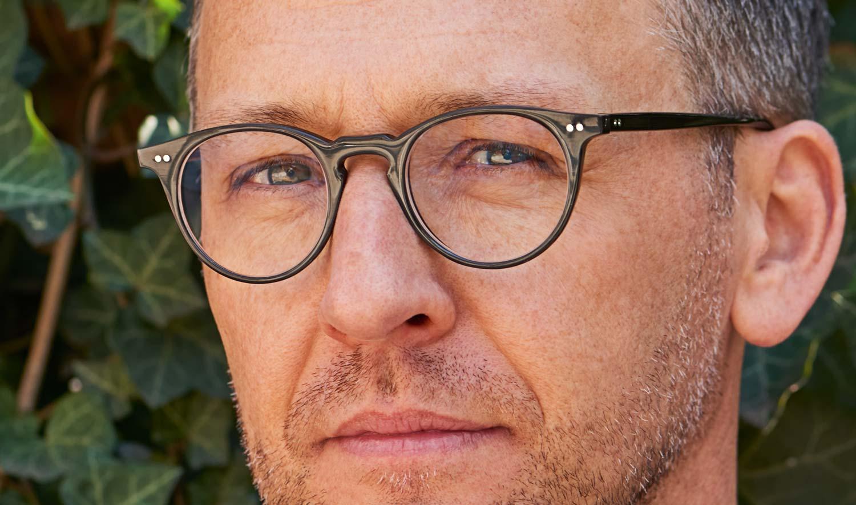 Kitschenberg Horn - Model Mikael – Pantobrille aus Büffelhorn mit genieteten Gelenken - KITSCHENBERG Brillen