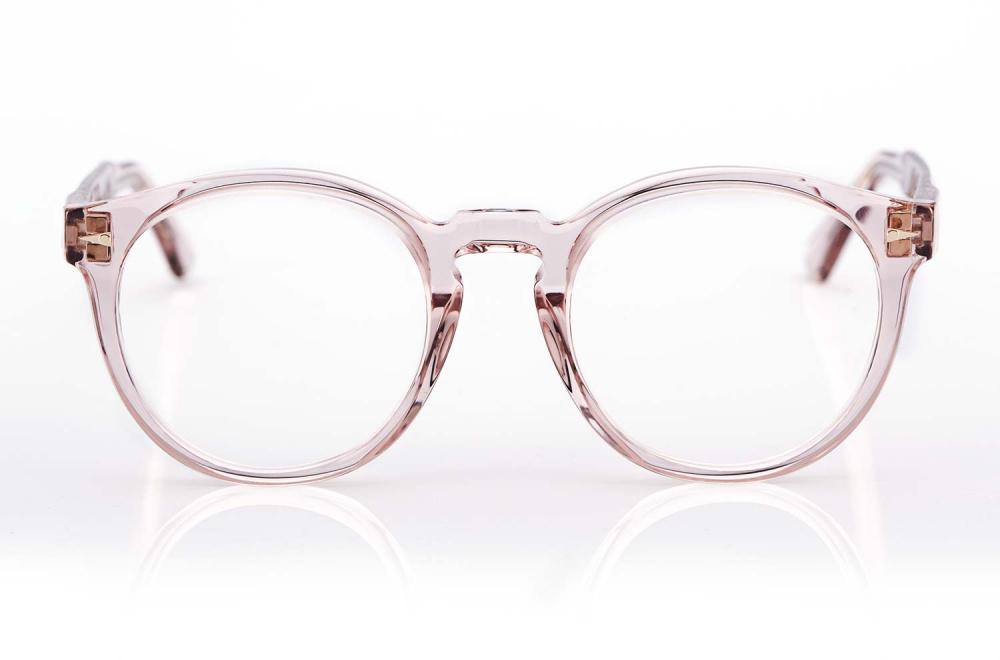 Ahlem – Rose Farbige runde Panto Kunststoffbrille - KITSCHENBERG Brillen
