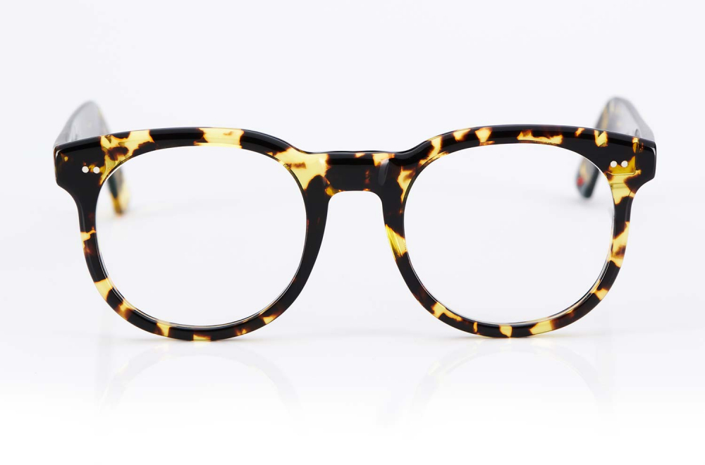 Alf – Atelier de Lunetterie Francais – dicke gefleckte Panto Brille im Vintage retro Stil – genietet und in Frankreich gefertigt- KITSCHENBERG Brillen
