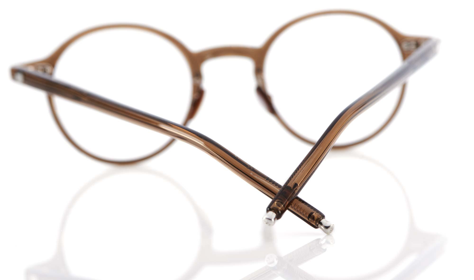 Eyevan – Eyevan Ten – rund vintage – Perlmuttstege – japanischer Kunststoff – made in Japan - KITSCHENBERG Brillen