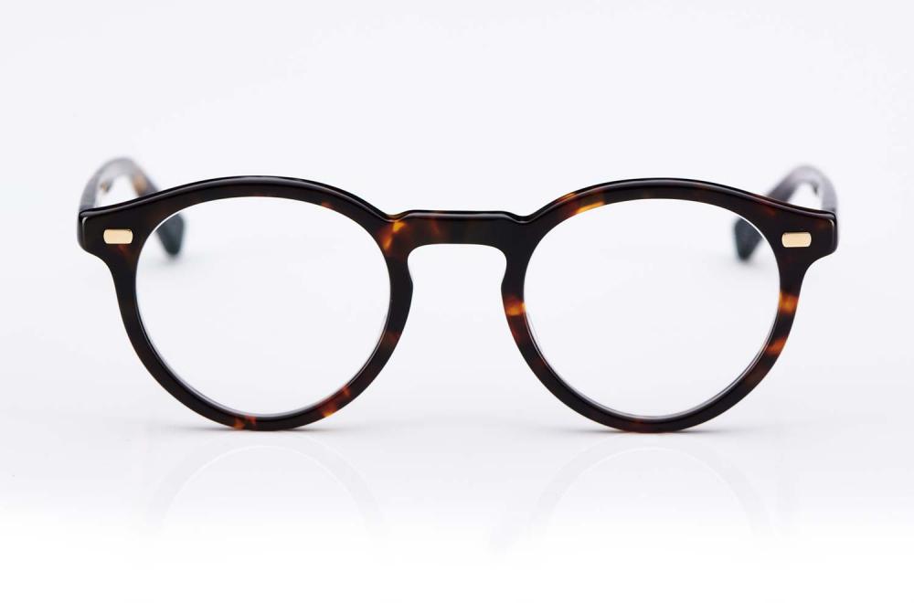 Eyevan – Havanna farbige Panto Kunststoffbrille – handgenietet - made in Japan – KITSCHENBERG Brillen