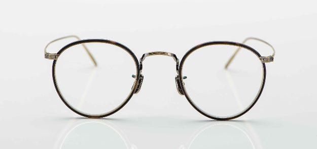 Eyevan - Pantobrille aus fein ziseliertem Titan - KITSCHENBERG Brillen