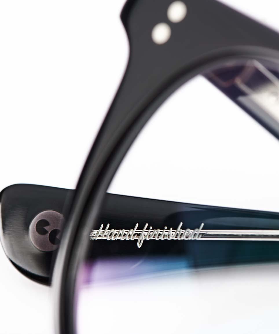Garrett Leight – runde Panto Kunststoffbrille – Vintage – matt schwarz – handfinished - KITSCHENBERG Brillen