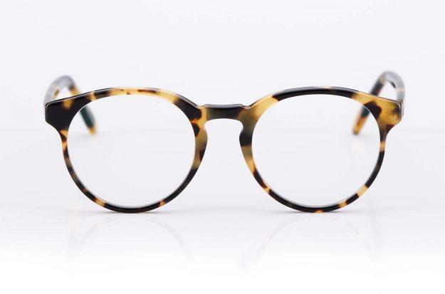 Kitschenberg Acetat – runde Panto Vintage Kunststoffbrille im Retro Design – Schildpatt Optik - KITSCHENBERG Brillen