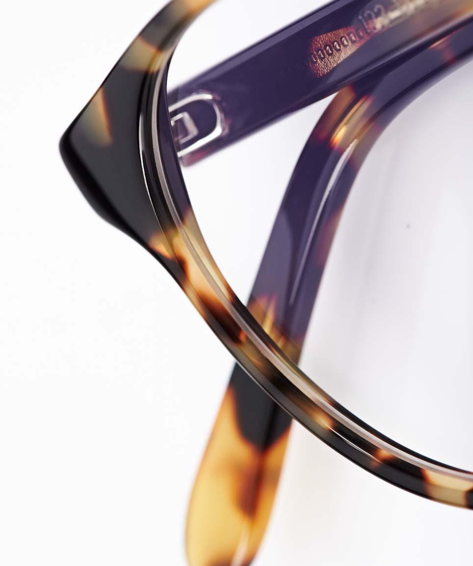 Kitschenberg Acetat – runde Panto Vintage Kunststoffbrille im Retro Design - KITSCHENBERG Brillen