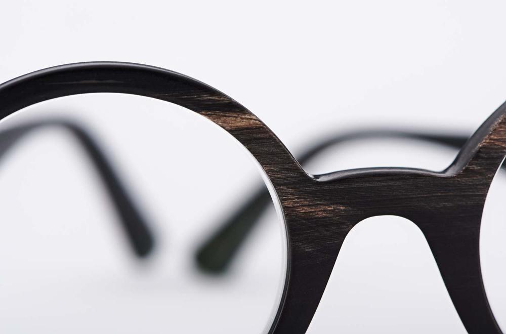 Kitschenberg Horn – Runde Panto Brille - Vintage Retro Design – Naturhorn - KITSCHENBERG Brillen