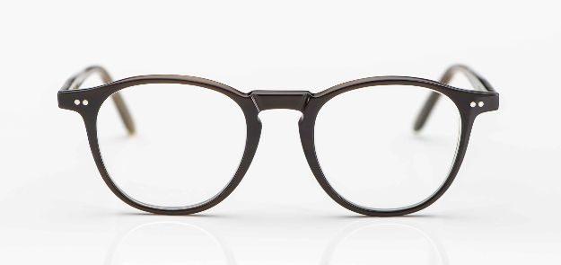 Kitschenberg Horn- maßangefertigte braune Naturhorn-Pantobrille - KITSCHENBERG Brillen