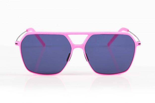 Klenze & Baum – rose Sonnenbrille Asket 3D gedruckt mit Titan Bügeln in Pilto Style - KITSCHENBERG Brillen
