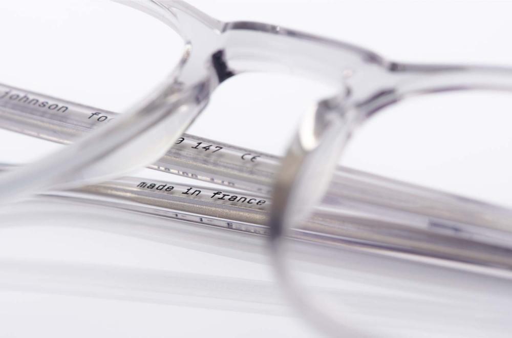 Lazare Studio – originale Retro Vintage Brille – transparenter Kunststoff – Panto – KITSCHENBERG Brillen