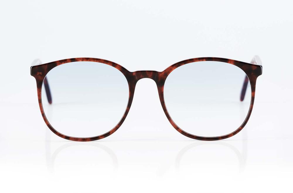 Lazare Studio – originale Retro Vintage Brille Havanna farbige Panto Kunststoffbrille – KITSCHENBERG Brillen