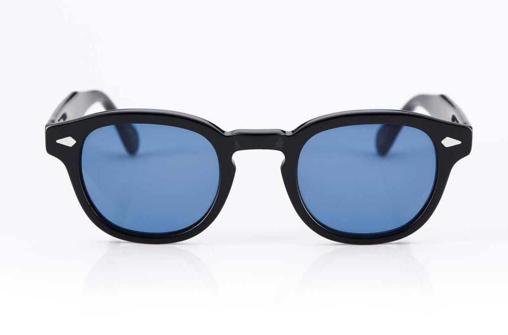 Moscot Originals – Panto – Retro – Vintage – Kunststoffbrille – Lemtosh Sonnenbrille – Blaue Gläser - KITSCHENBERG Brillen