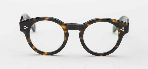 Moscot - dickrandige Pantobrille aus tortoisefarbigem Acetat mit 3-Punkt-Niete- KITSCHENBERG Brillen