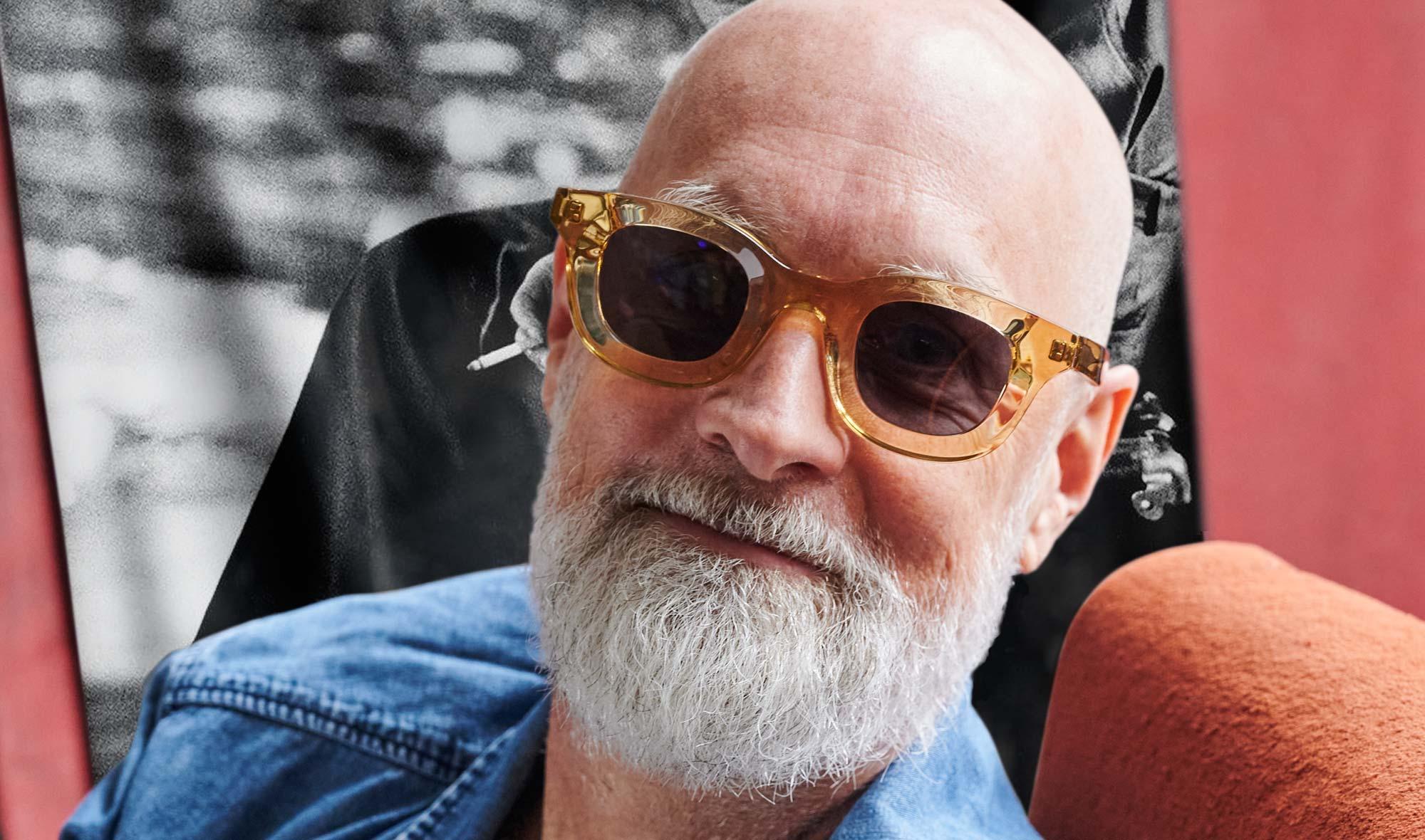 Thierry Lasry – Sonnenbrille transparent champagnerfarbig – dickrandiger Kunststoff - KITSCHENBERG Brillen