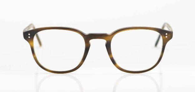 Oliver Peoples - olivgrüne, matte Acetat Brille - KITSCHENBERG Brillen