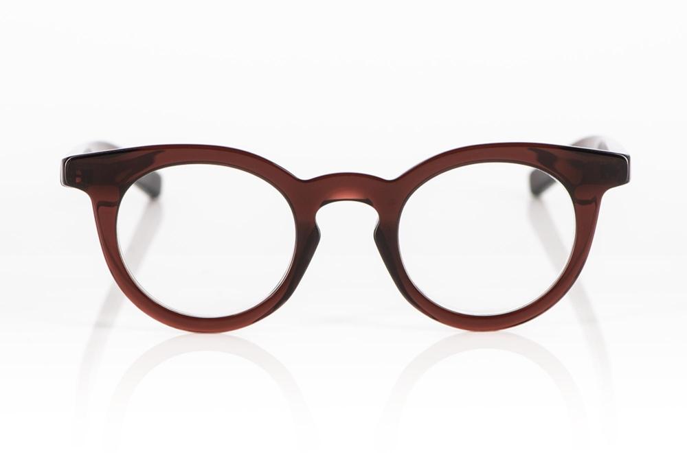 Oscar Magnuson – breitrandige dunkelbraune Acetat Pantobrille - KITSCHENBERG Brillen