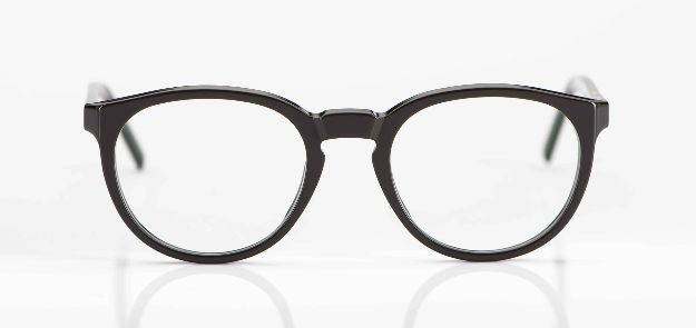 Reiz - dunkelgraue Acetatbrille - KITSCHENBERG Brillen