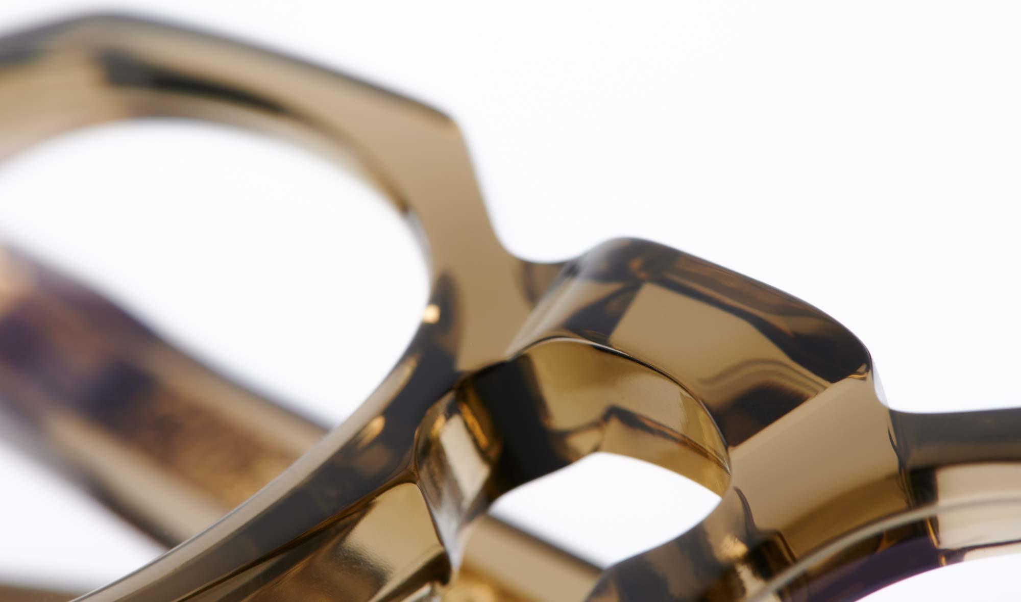 TVR -True Vintage Revival – dicke Acetat Panto Brille - KITSCHENBERG Brillen