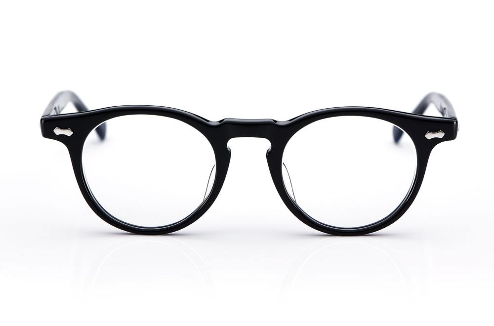 TVR – True Vintage Revival – Originals – Retro – Kunststoff – Made in Japan – Panto – Rund – 505 – classic Black - KITSCHENBERG Brillen