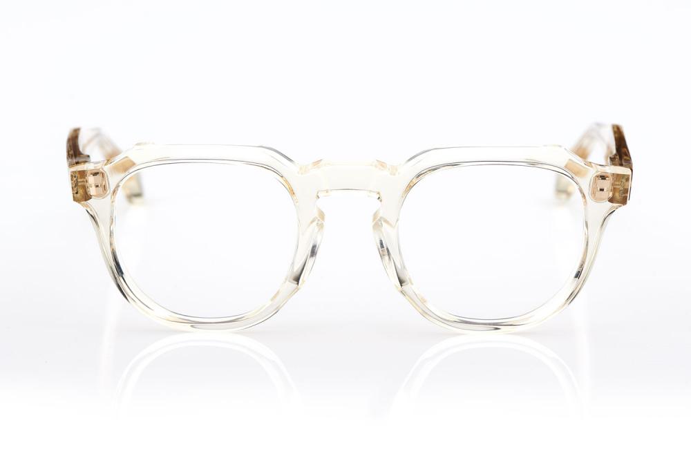 TVR – True Vintage Revival – Originals – Retro – Kunststoff – Made in Japan – Panto – Rund – Yamada Mitsukazu – Yellow crystal - KITSCHENBERG Brillen