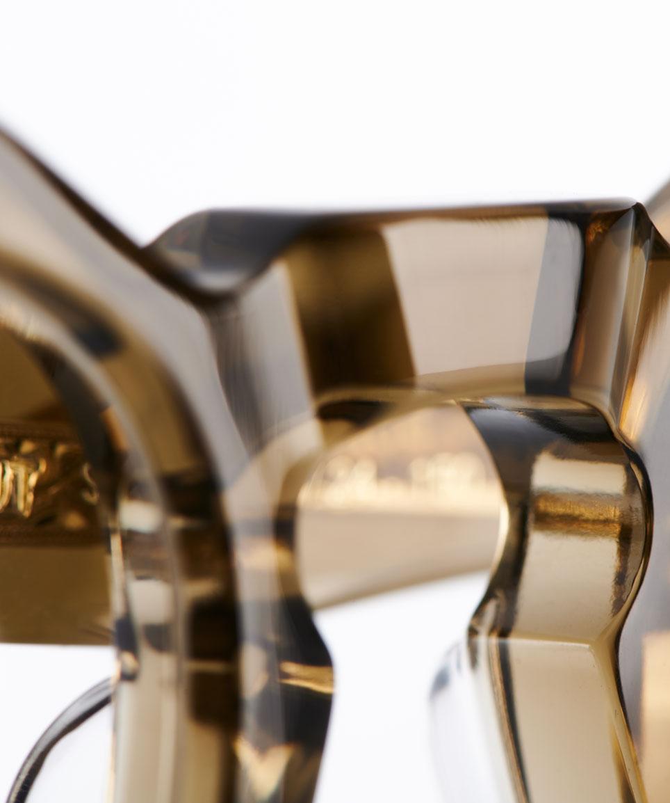 TVR – True Vintage Revival – Originals – Retro – Kunststoff – Made in Japan – Panto – Rund – Yamada Mitsukazu Green crystal - KITSCHENBERG Brillen