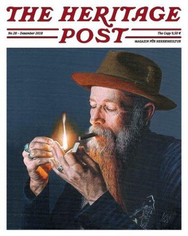 The Heritage Post - Cover Ausgabe No 28 - KITSCHENBERG Brille