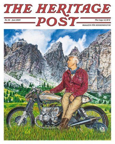 The Heritage Post - Cover Ausgabe No 34 - KITSCHENBERG Brillen