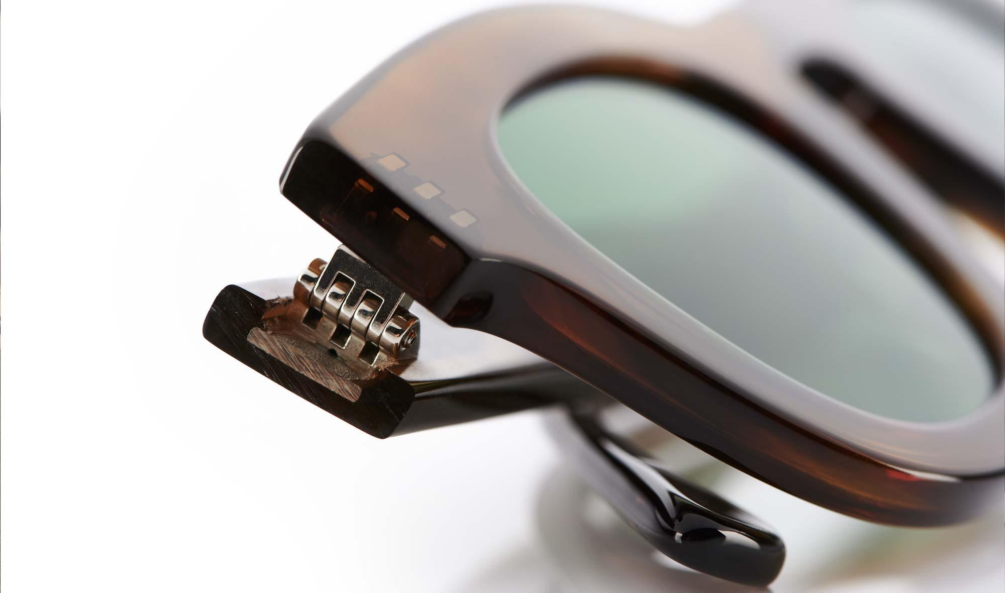 Thierry Lasry – Sonnenbrille – Vintage Panto – dickes Acetat – flache Gläser - KITSCHENBERG Brillen