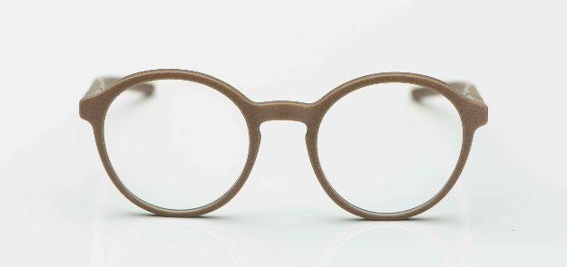 Voyou - 3-D gedruckte graue Panto Brille - KITSCHENBERG Brillen