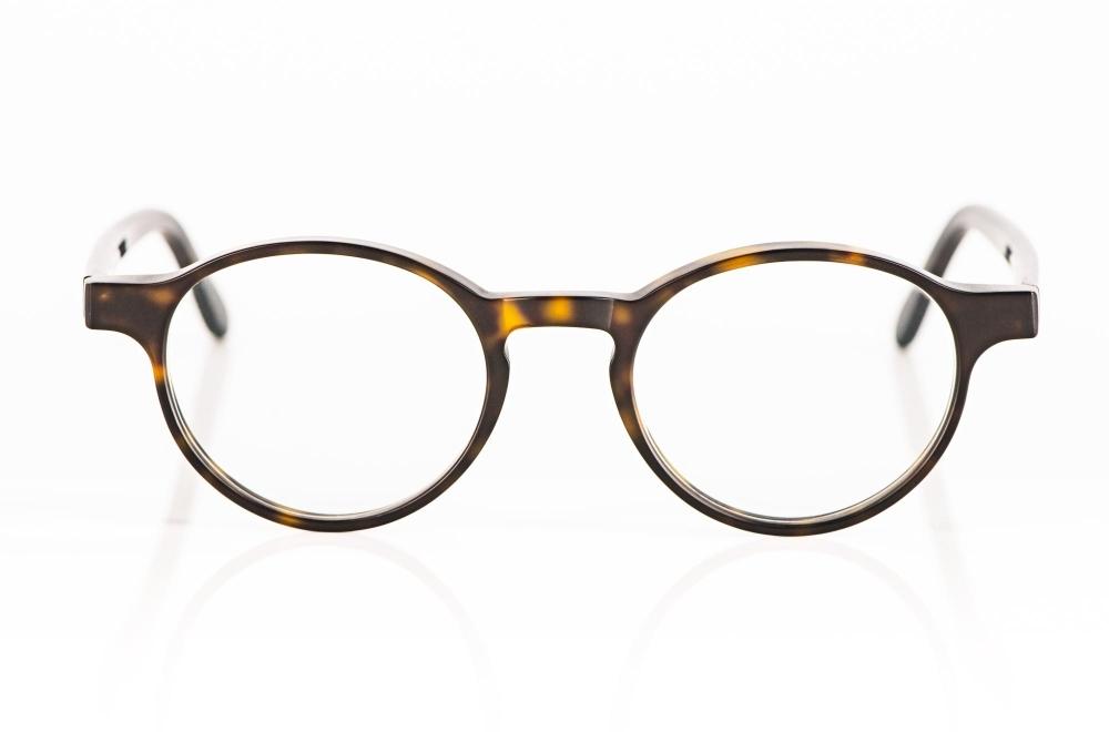 Kitschenberg Acetat – Panto Brille aus schildpattfarbigem, dunkelbraunem Acetat – KITSCHENBERG Brillen