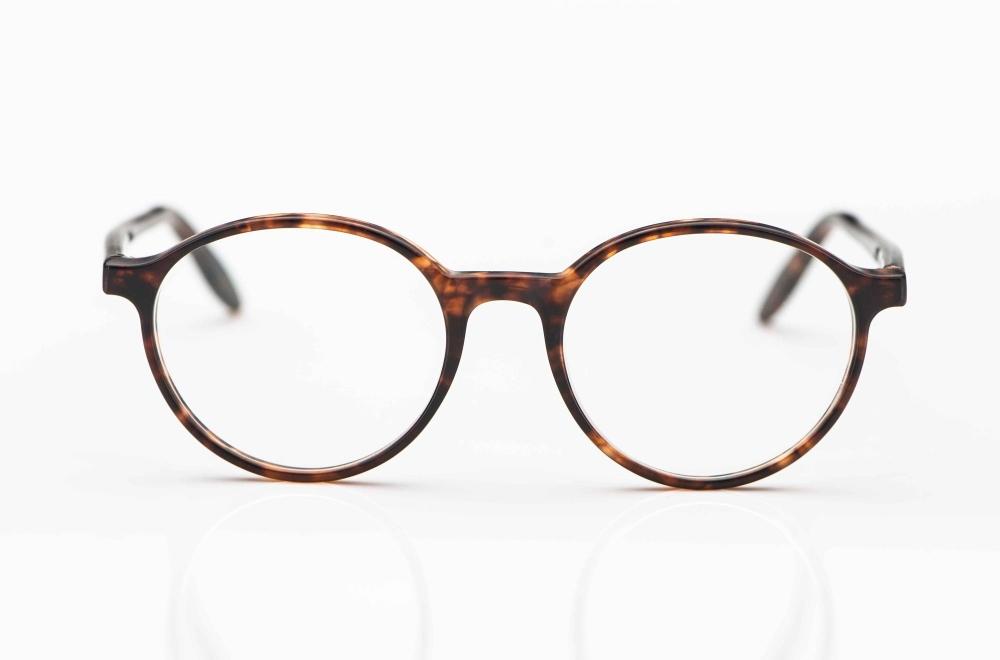 Kitschenberg Acetat – rund Kunststoff Brille mit mattierter Oberfläche – KITSCHENBERG Brillen