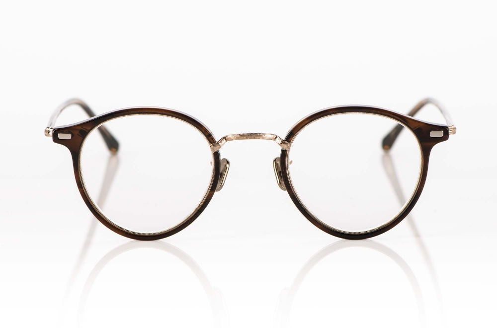 Eyevan – Pantobrille aus einer Metall Kunststoff Kombination, hergestellt in Japan - KITSCHENBERG Brillen