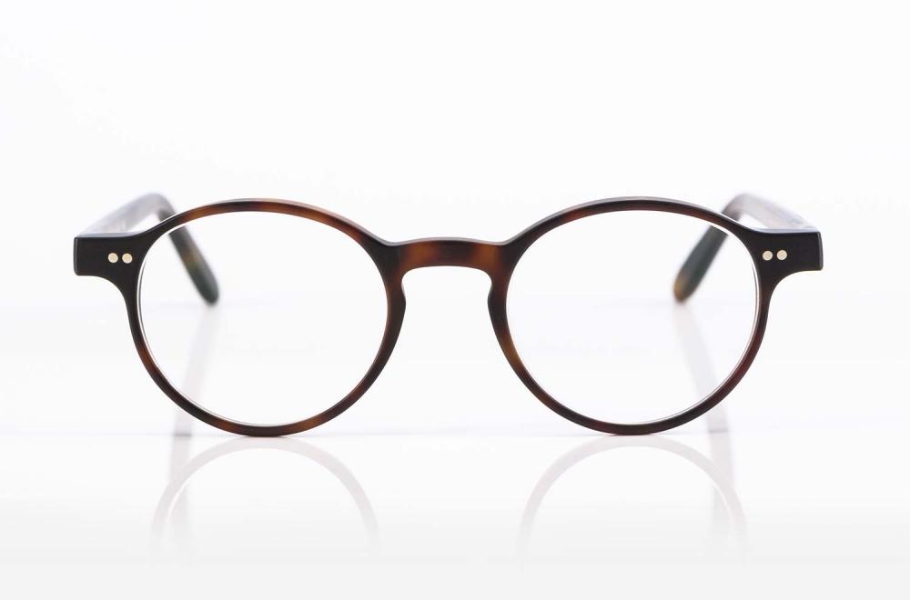 Kitschenberg Acetat – Brille in klassischer Pantoform mit genieteten Scharnieren produziert in Deutschland - KITSCHENBERG Brillen