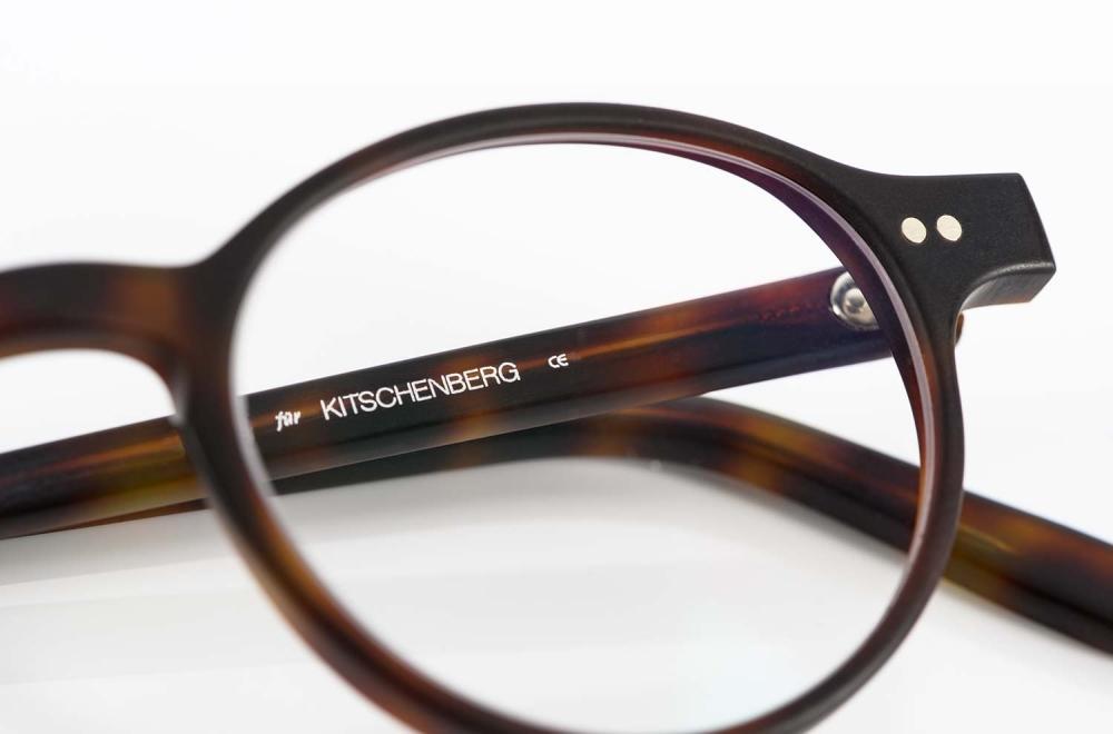 Kitschenberg Acetat – Pantobrille mit handgenieteten Gelenken und in Deutschland produziert - KITSCHENBERG Brillen