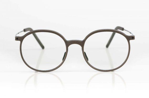 Klenze & Baum – runde Brille aus 3D-Druck Serie Asket mit Bügeln aus Titan - KITSCHENBERG Brillen