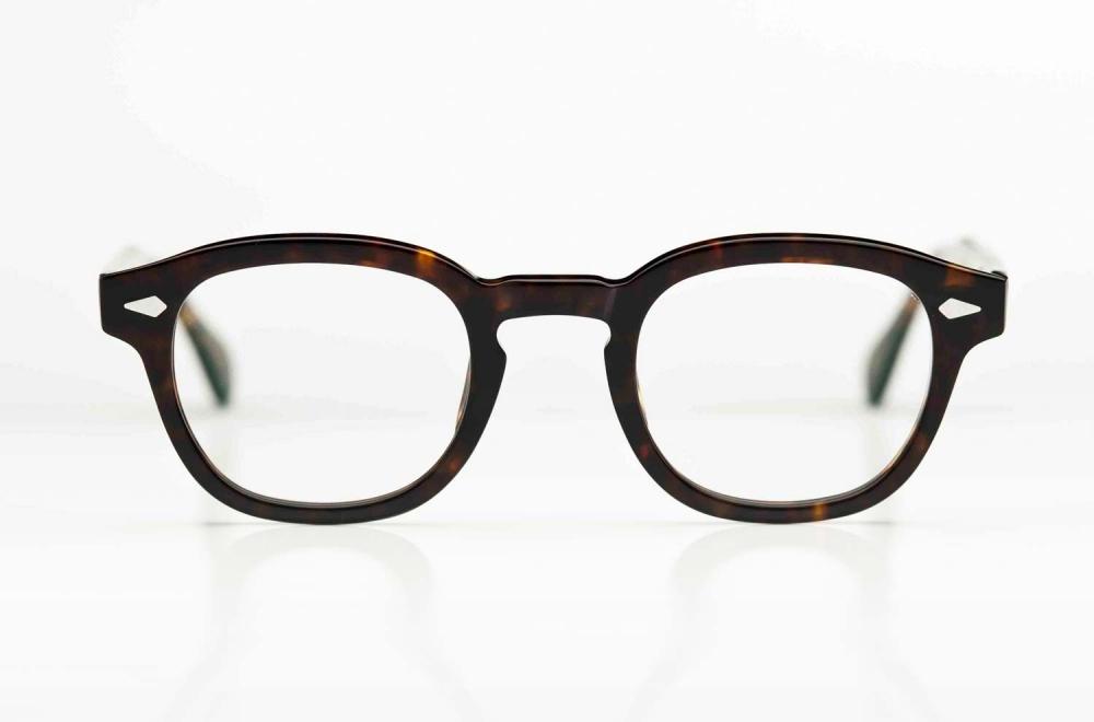 Moscot – Lemtosh - braun gesprenkelte Acetat Fassung im Stil der 1950er - KITSCHENBERG Brillen