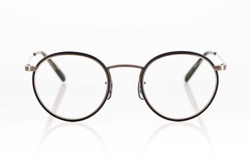 Oliver Peoples – klassische Titan Panto Brille mit filigranem Windsorring - KITSCHENBERG Brillen
