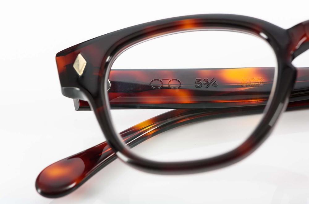 TVR – True Vintage Revival – Vintage Acetat Brille in Schildpattimitat 100% handgemacht in Japan - KITSCHENBERG Brillen