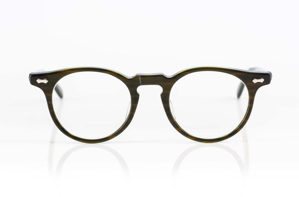 TVR – True Vintage Revival – Acetat Panto Brille mit handgenieteten Scharnieren in Japan gefertigt - KITSCHENBERG Brillen