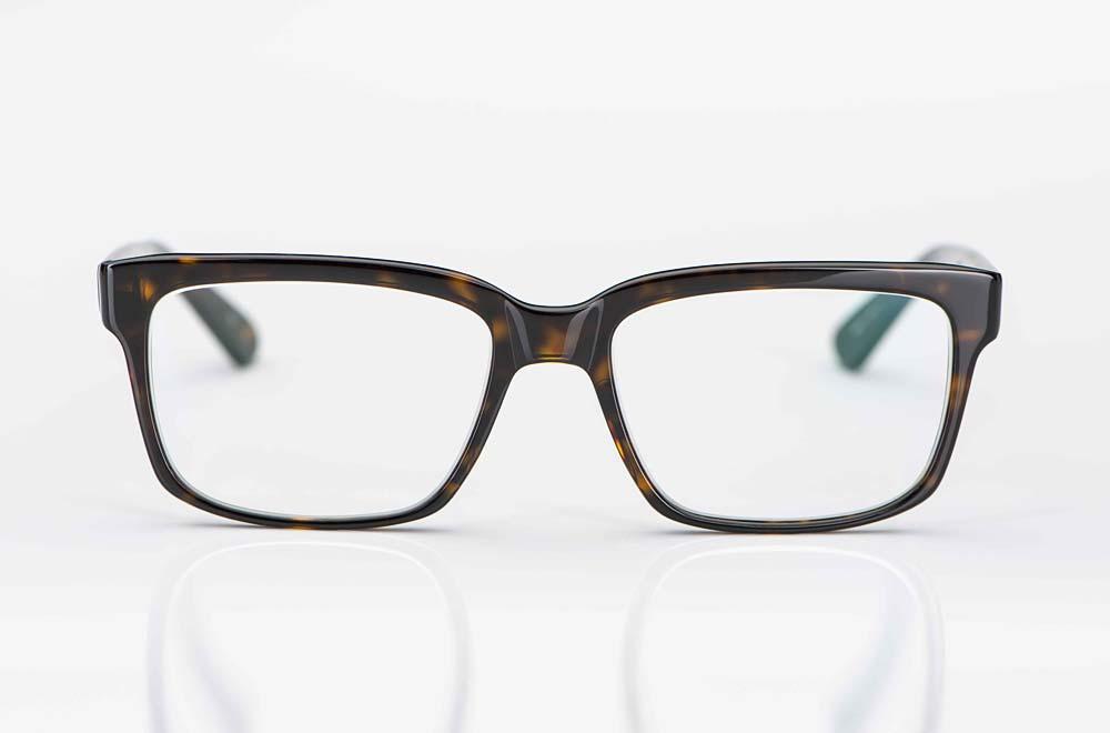 Masunaga – eckige braune Kunststoffbrille - KITSCHENBERG Brillen