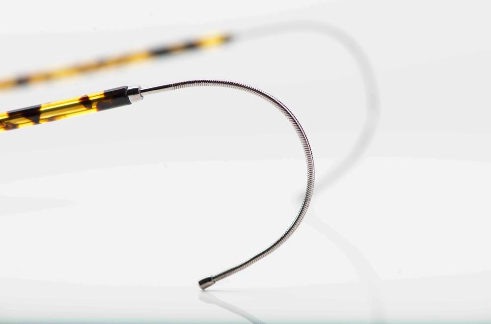 Moscot – Gespinstbügel an einer filigranen Metall Pantobrille - KITSCHENBERG Brillen