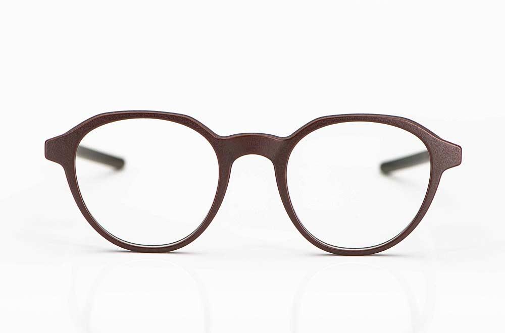 Voyou – Pantobrille aus 3D gedrucktem Polyamidpulver mit einer rauen Oberfläche - KITSCHENBERG Brillen