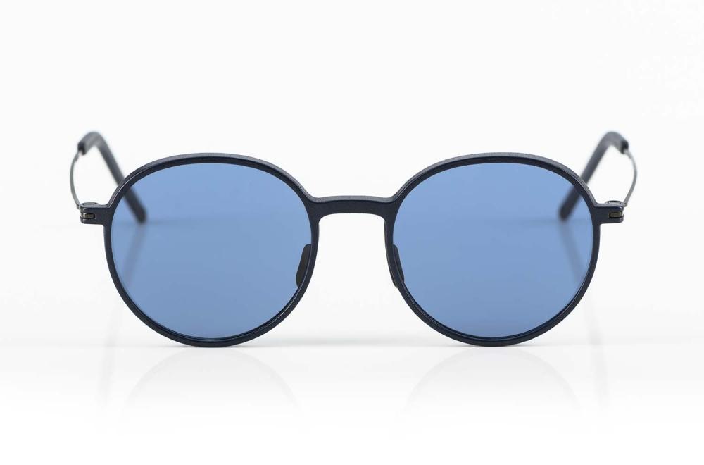 Klenze & Baum – runde Sonnenbrille Asket 3D gedruckt mit Titan Bügeln - KITSCHENBERG Brillen