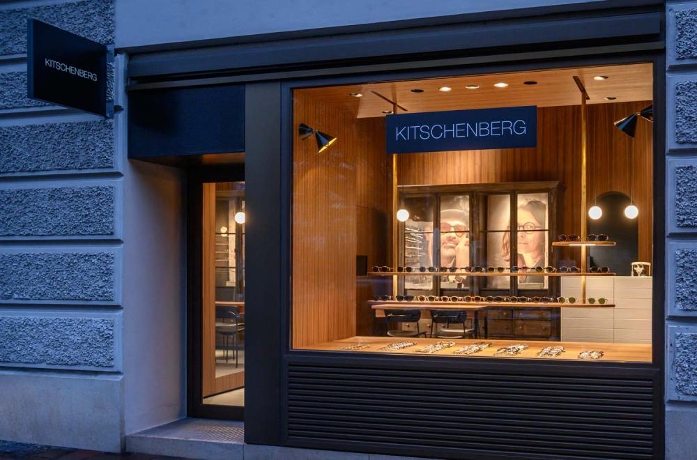 Kitschenberg – Geschäft Außenansicht St.-Anna-Str. Lehel - KITSCHENBERG Brillen