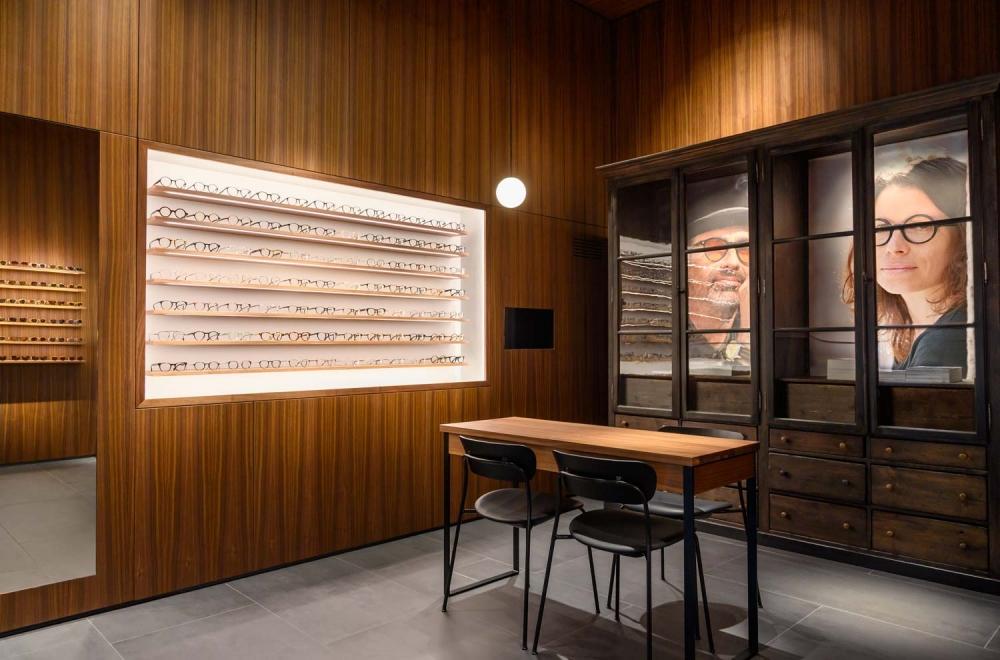 Kitschenberg – Geschäft Innenansicht St.-Anna-Str. Lehel - KITSCHENBERG Brillen
