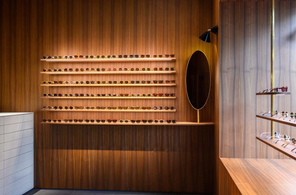 Kitschenberg – Geschäft Innenansicht Sonnenbrillen St.-Anna-Str. Lehel - KITSCHENBERG Brillen